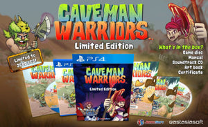 Caveman Warriors [Limited Edition] (JP Import) (Playstation 4 / PS4)