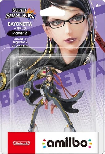 Bayonetta - Player 2 - Super Smash Series (Amiibo)