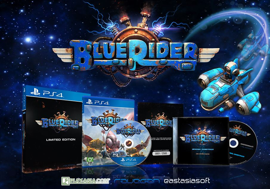 Blue Rider [Limited Edition] (JP Import) (Playstation 4 / PS4)