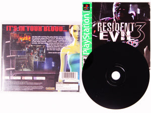 Resident Evil 3 Nemesis [Greatest Hits] (Playstation / PS1)