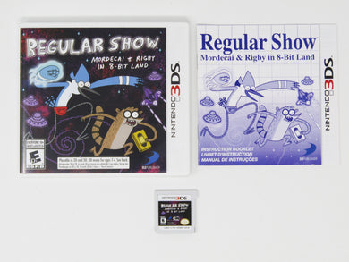 Regular Show: Mordecai & Rigby in 8-Bit Land Crimes (Nintendo 3DS)