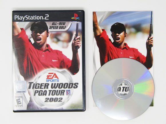 Tiger Woods 2002 (Playstation 2 / PS2)