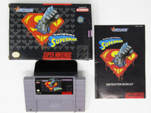 Charger l'image dans la galerie, The Death and Return of Superman (Super Nintendo SNES)