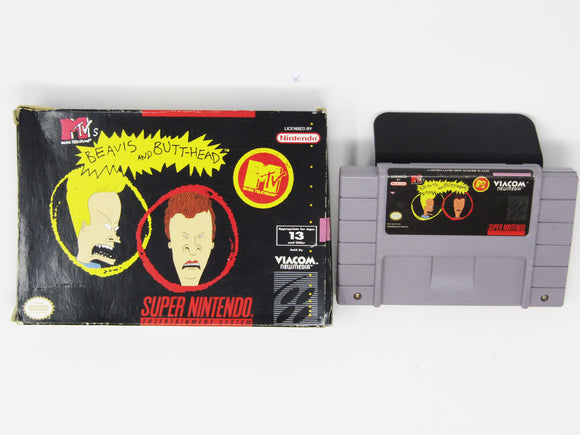 Beavis and Butthead (Super Nintendo SNES)