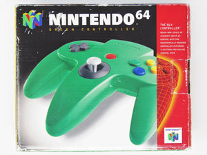 Official Green Controller (Nintendo 64)