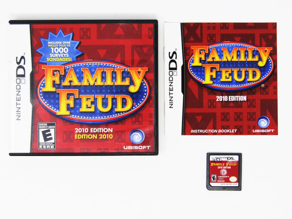 Family Feud: 2010 Edition (Nintendo DS)