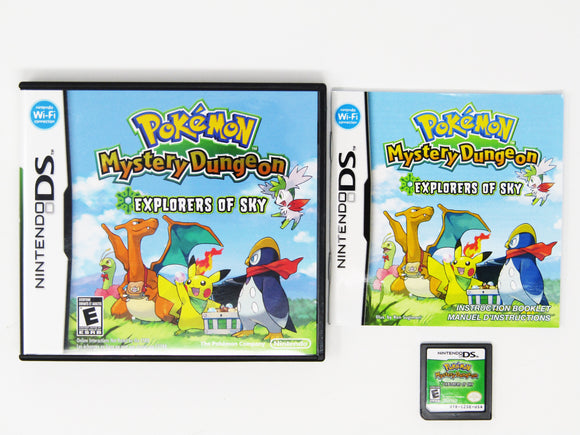 Pokemon Mystery Dungeon Explorers of Sky (Nintendo DS)