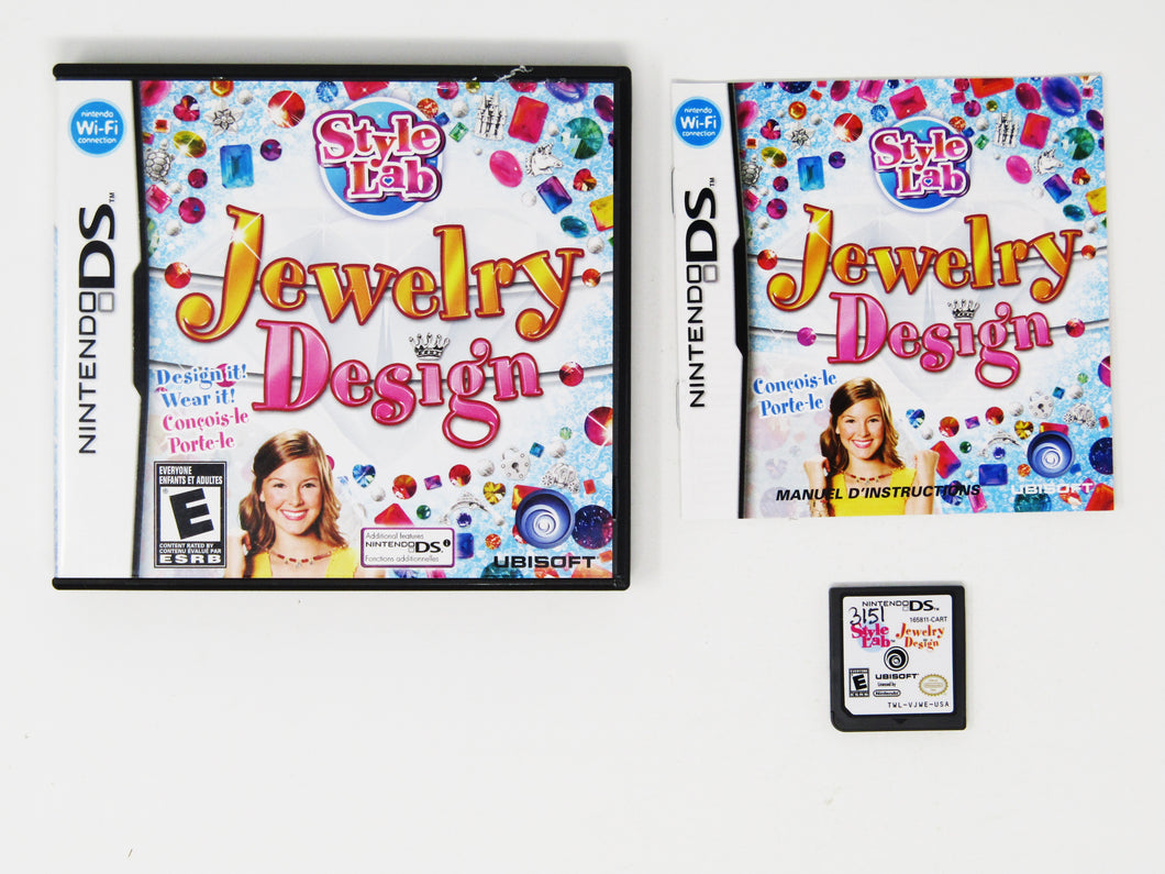 Style Lab: Jewelry Design (Nintendo DS)