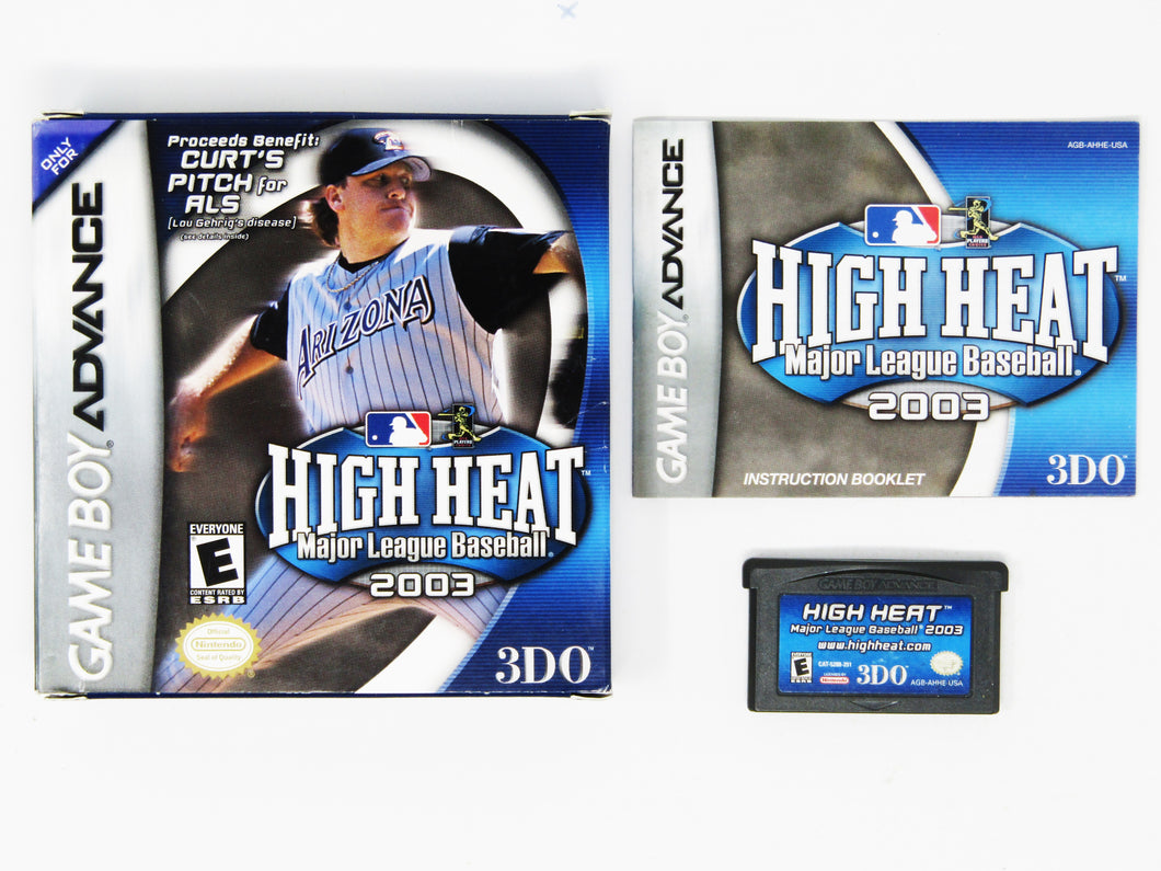 High Heat Baseball 2003 (Game Boy Advance)