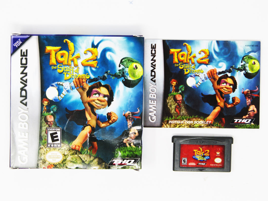 Tak 2 The Staff of Dreams (Game Boy Advance)