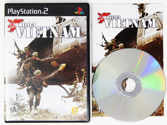 Conflict Vietnam (Playstation 2 / PS2)