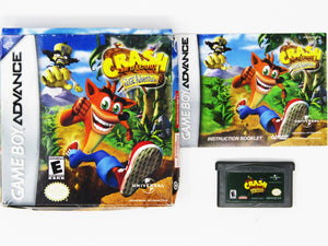 Crash Bandicoot the Huge Adventure (Game Boy Advance)