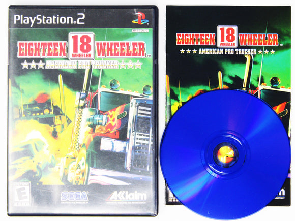 18 Wheeler American Pro Trucker (Playstation 2 / PS2)