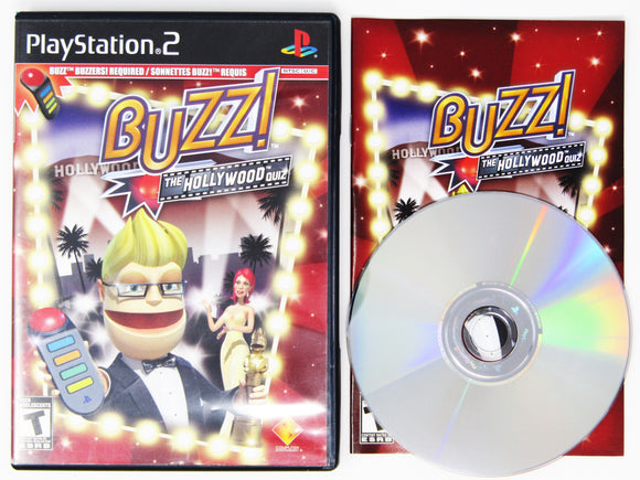 Buzz!: The Hollywood Quiz (Playstation 2 / PS2)