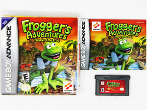 Froggers Adventures Temple of Frog (Game Boy Advance)