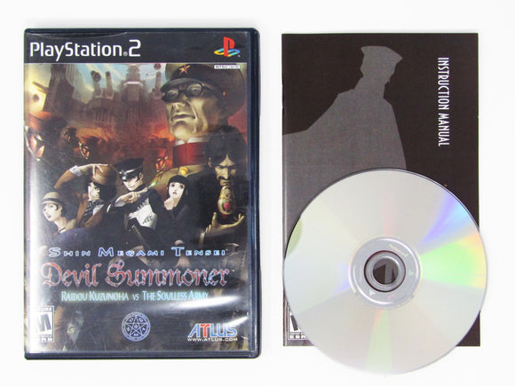 Shin Megami Tensei: Devil Summoner: Raidou Kuzunoha Vs. The Soulless Army (Playstation 2 / PS2)