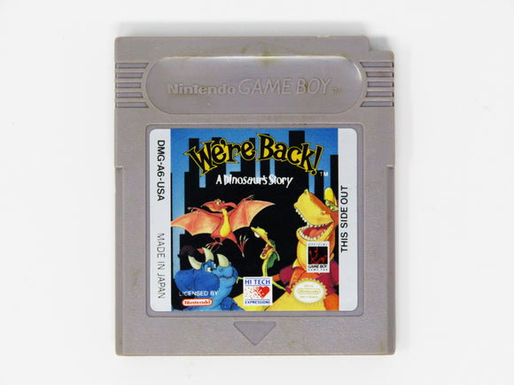 We're Back A Dinosaur Story (Game Boy)