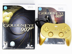 007 GoldenEye with Gold Controller (Wii)