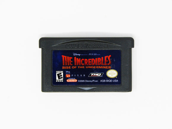 The Incredibles Rise of the Underminer (Game Boy Advance / GBA)