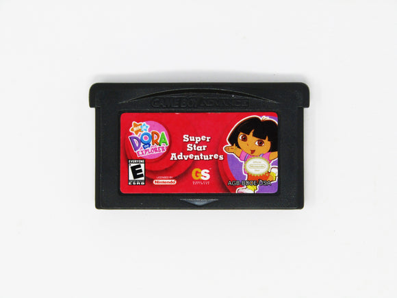 Dora the Explorer Super Star Adventures (Game Boy Advance / GBA)