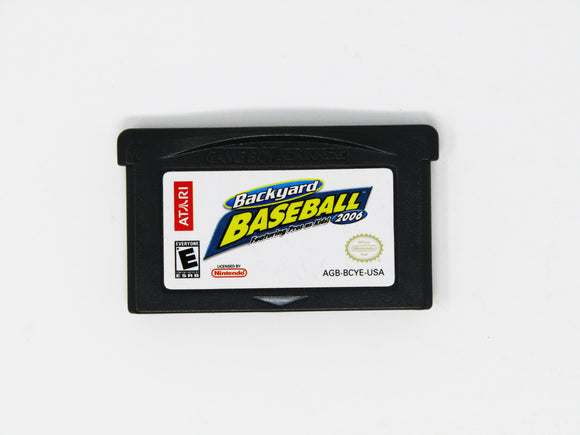 Backyard Baseball 2006 (Game Boy Advance / GBA)