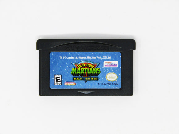 Butt Ugly Martians BKM Battles (Game Boy Advance / GBA)
