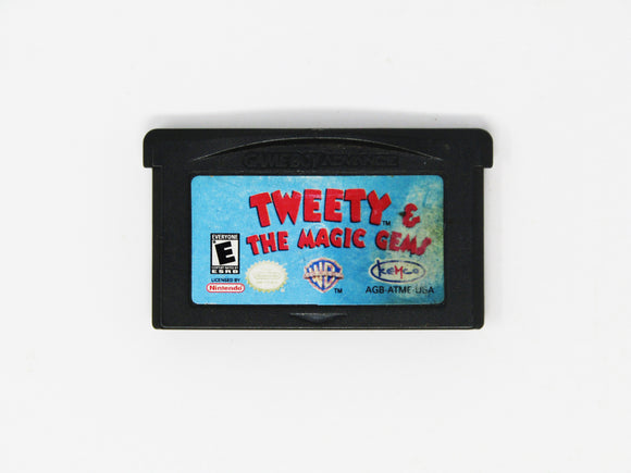 Tweety and the Magic Gems (Game Boy Advance / GBA)