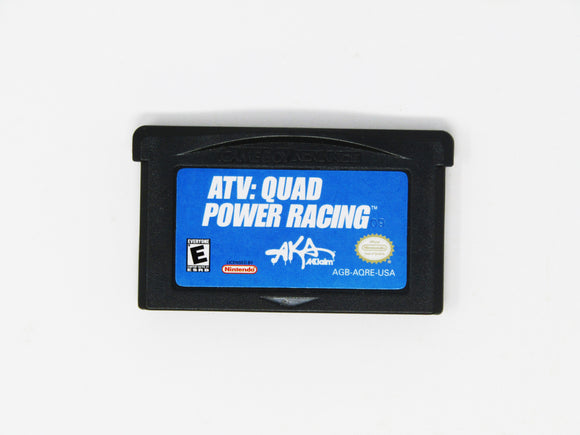 ATV Quad Power Racing (Game Boy Advance / GBA)