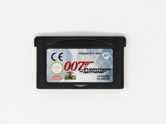 007 Everything or Nothing [PAL] (Game Boy Advance / GBA)