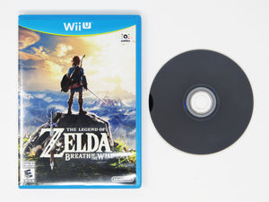 Legend of Zelda Breath of the Wild (Wii U)