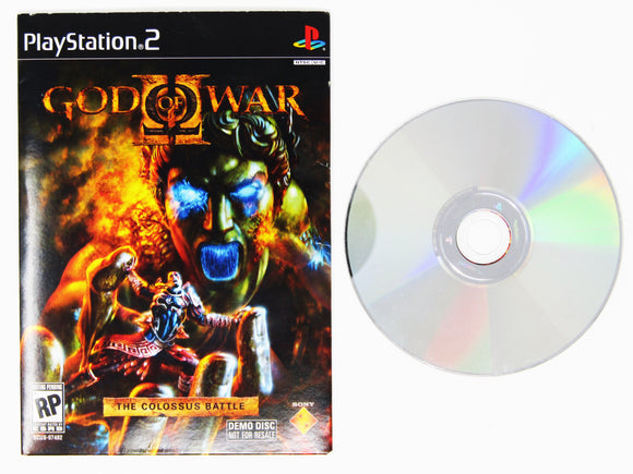 God of War 2 Demo Disc (Playstation 2 / PS2)