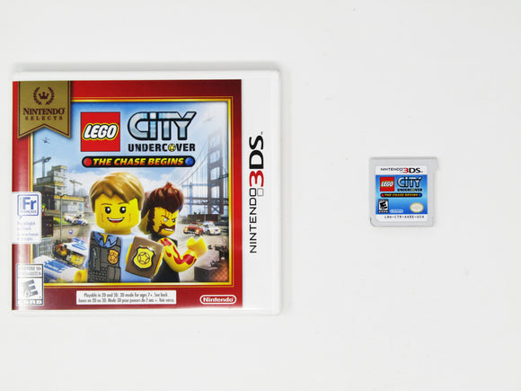 LEGO City Undecover: The Chase Begins [Nintendo Selects]