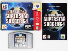 Charger l'image dans la galerie, International Superstar Soccer 64 (Nintendo 64)
