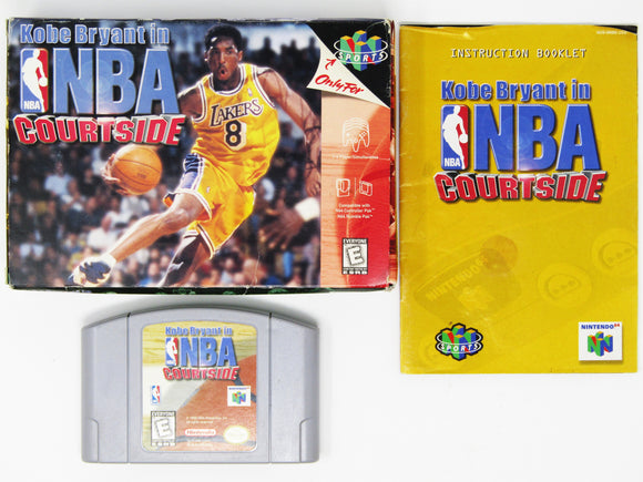NBA Courtside (Nintendo 64 / N64)