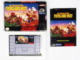 An American Tail Fievel Goes West (Super Nintendo / SNES)