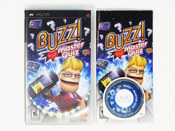 Buzz! Master Quiz (Playstation Portable / PSP)