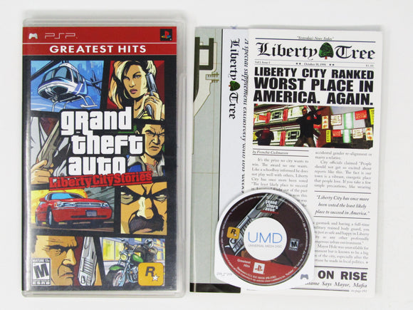 Grand Theft Auto Liberty City Stories [Greatest Hits] (Playstation Portable / PSP)