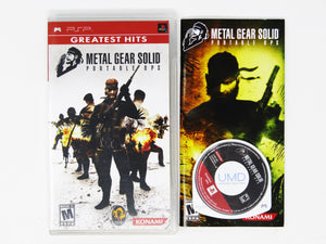 Metal Gear Solid Portable Ops [Greatest Hits] (Playstation Portable / PSP)