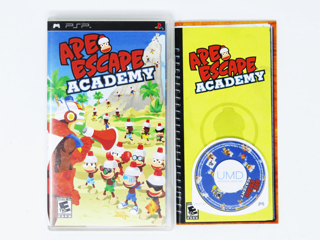 Ape Escape Academy (Playstation Portable / PSP)