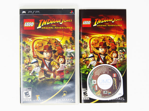 LEGO Indiana Jones The Original Adventures (Playstation Portable / PSP)