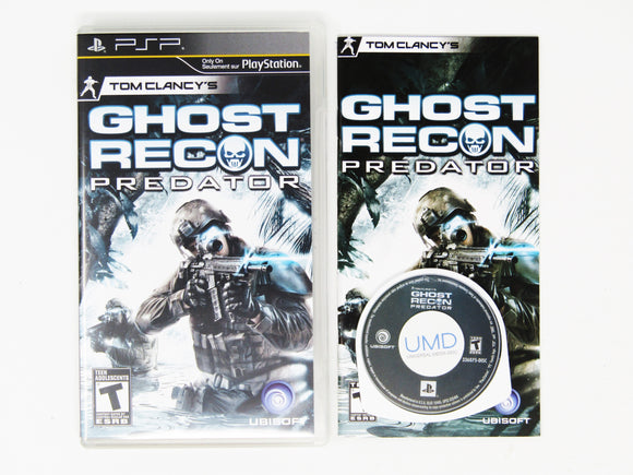 Ghost Recon: Predator (Playstation Portable / PSP)