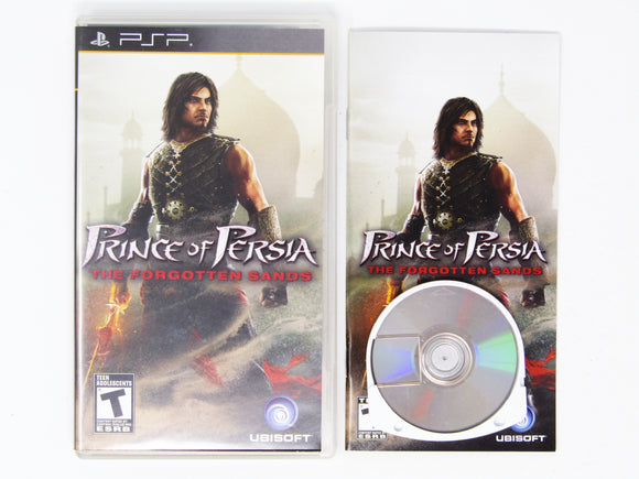 Prince of Persia: The Forgotten Sands (Playstation Portable / PSP)