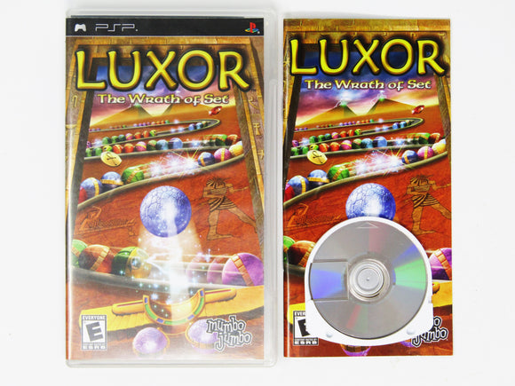 Luxor Wrath of Set (Playstation Portable / PSP)