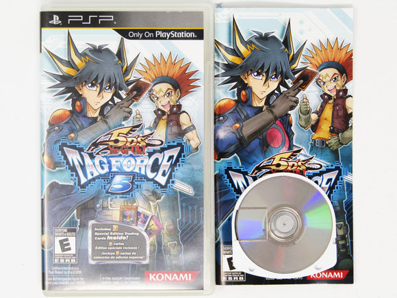 Yu-Gi-Oh 5D's Tag Force 5 (Playstation Portable / PSP)