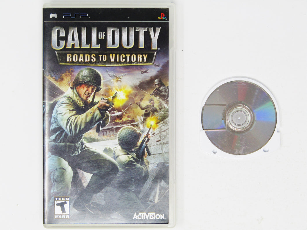 Call of Duty Roads to Victory (Playstation Portable / PSP)