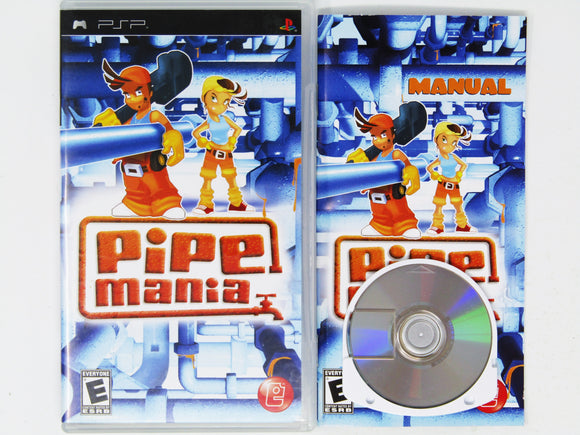 Pipe Mania (Playstation Portable / PSP)