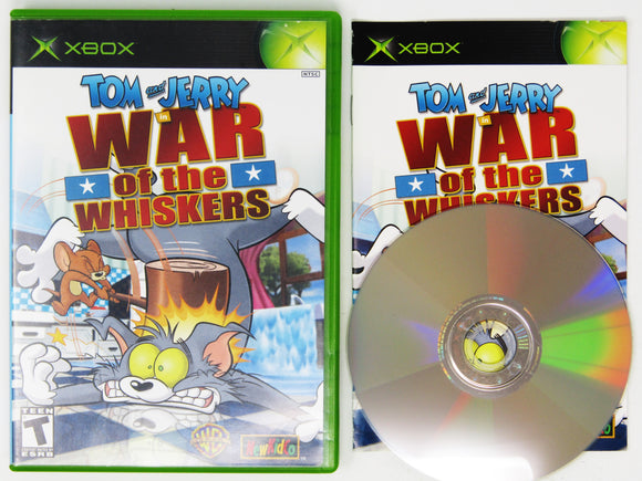 Tom and Jerry War of Whiskers (Xbox)