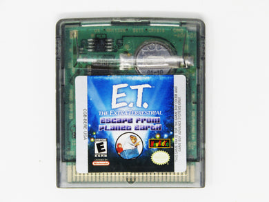 ET the Extra Terrestrial: Escape from Planet Earth (Game Boy Color)