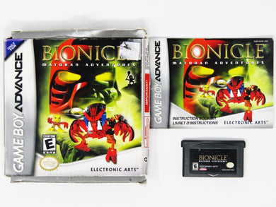 Bionicle Matoran Adventures (Game Boy Advance / GBA)