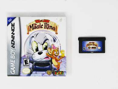 Tom and Jerry Magic Ring (Game Boy Advance / GBA)